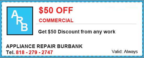 Appliance Repair Coupon - 50 Off